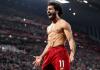 Selebrasi Mohamed Salah usai membobol gawang Manchester United yang dikawal David De Gea.Itu menjadikan skor 2-0, setelah gol pertama Virgil van Dijk. (Foto: Liverpoolfc.com)