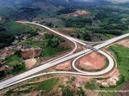 Ilustrasi proyek infrastruktur. Tol SUmatera. (Foto: Kemenkeu)