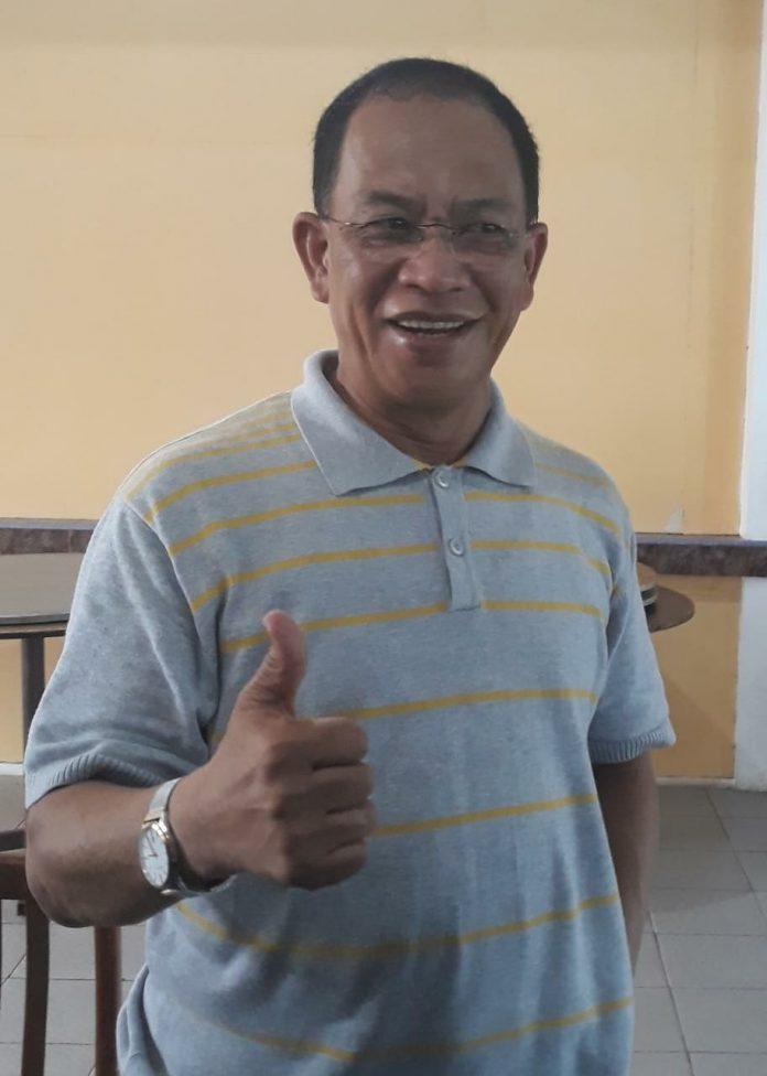 Bupati Lingga Alias Wello saat ditemui di Tanjungpinang (Suryakepri.com/ Muhammad Bunga Ashab)