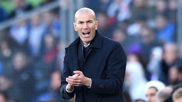 Pelatih Real Madrid Zinedine Zidane. (Sumber Foto: Livescore)