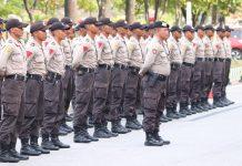 65 Siswa Pendidikan dan Pembentukan Bintara (Diktukba) Polri Tahun Ajaran 2019 Sekolah Polisi Negara (SPN) Polda Kepri. (Foto: Suryakepri.com/Romi)