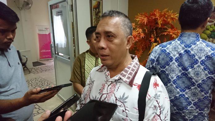 Koordinator Wilayah II Komisi Pemberantasan Korupsi (KPK) Abdul Haris. (Foto: Suryakepri.com/Nando)