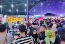 "Suasana bazar kuliner ""Batamliciouz"" di Mall Botania II, Batam Centre, Minggu (23/2/2020). Foto: Suryakepri.com/Ruvie"
