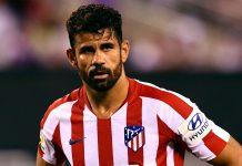 Striker Altetico Madrid Diego Costa