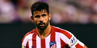 Striker Altetico Madrid Diego Costa