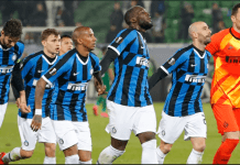 Pertandingan antara Inter Milan vs Sampdoria, Atalanta vs Sassuolo, dan Hellas Verona vs Cagliari semuanya ditunda akibat kekhawatiran penularan virus corona. (Sumber Foto: AP via smh.com.au)