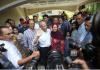 Tan Sri Muhyidin Yassin saat jumpa pers di kediamannya selepas diumumkan sebagai Perdana Menteri ke-8 Malaysia. (Foto: NSTP/Eizairi Shamsudin via Berita Harian)