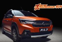 The New Extraordinary SUV Suzuki XL7. (Foto: Ist)
