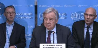 Sekretaris Jenderal PBB Antonio Guterres (Foto: UN.ORG)