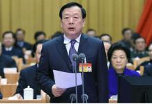Xia Baolong, direktur baru Kantor Urusan Hong Kong dan Makau Cina. Foto: Weibo
