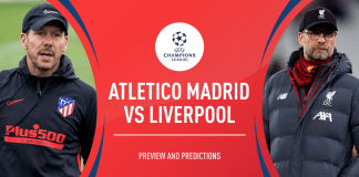 Atletico Madrid vs Liverpool (Grafis: Squawka)