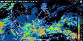 Pergerakan badai tropis Ferdinan (Foto: BMKG)