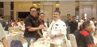 Usep RS terpilih menjadi Ketua KONI Kepri periode 2020-2024, dalam Musyawarah Olahraga Provinsi (Musprov) Kepri, di Best Western Panbil, Mukakuning, Sabtu (15/2/2020) malam.(suryakepri.com/rommy)