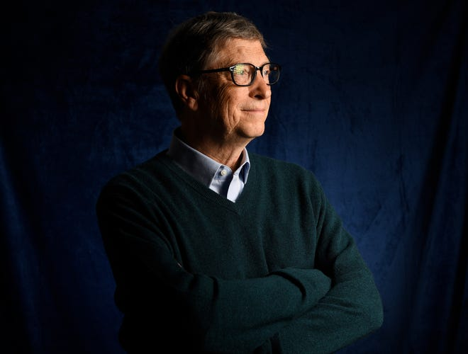Bos Microsoft Bill Gates (Sumber Foto: USA Today)