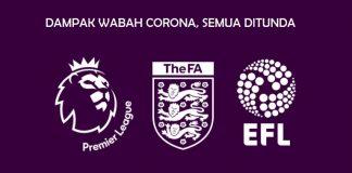 Dampak wabah corona semua pertandingan sepakbola di Inggris ditunda. (Foto: Premierleague.com)