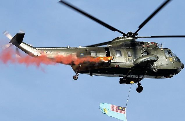Ilustrasi helikopter Militer Malaysia