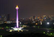 Tugu Monas, Jakarta. Pintu keluar ibukota negara kemungkinan akan dikunci total untuk umum. (Foto: TripAdvisory)