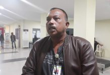 Koordinator Pemulangan WNI Korban Perdagangan Orang Kementerian Sosial RI Pitter M Matakena (Foto: Suryakepri.com/Muhammad Bunga Ashab)