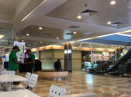 Mega Mall Batam Center sepi pengunjung. (Foto: Suryakepri.com/Aini Lestari)