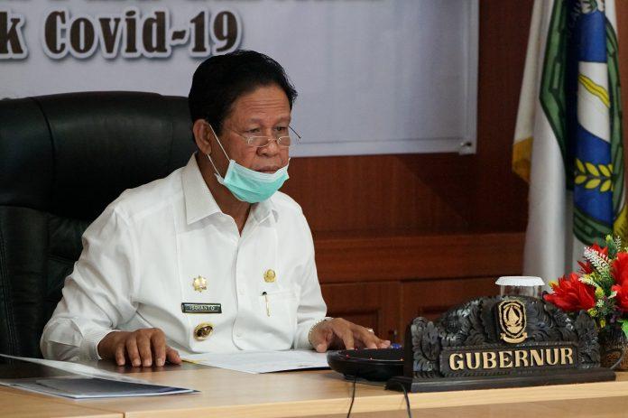 Plt Gubernur Kepulauan Riau (Kepri) H Isdianto saat di Rupatama Kantor Gubernur, Pulau Dompak, Tanjungpinang, Selasa (24/3/2020).