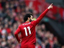 Striker Liverpool Mohamed Salah mencetak gol berturut-turut dalam enam pertemuan melawan Bournemouth. Ini melewati rekor pemain Burnley Chris Wood yang melakukannya lima kali terhadap satu tim yang sama. (Foto: Premierleague.com)