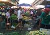Suasana Pasar Pagi Tos 3000 Batam di kawasan Jodoh, Minggu (29/3/2020). Foto: Suryekepri.com/Eddy Mesakh)