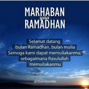 Ini Gambar Ucapan Puitis Selamat Menyambut Bulan Puasa Ramadhan