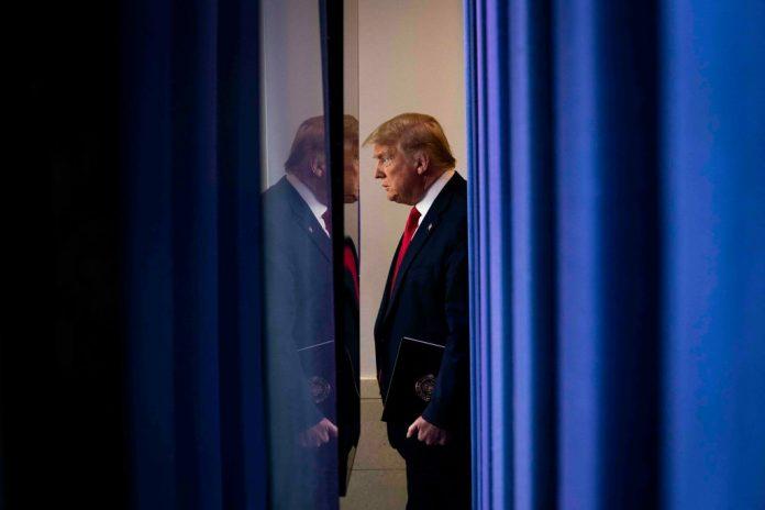 Presiden AS Donald Trump. (Foto dari New York Times)