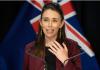 Perdana Menteri Selandia Baru Jacinda Ardern memberi pengarahan singkat kepada media tentang wabah Covid-19 dan bagaimana negara tersebut menghilangkan penularan komunitas secara luas. (Foto: AP via SCMP)