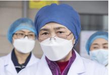 Profesor Li Lanjuan ahli epidemiologi terkemuka di Tiongkok . Foto: Xinhua via SCMP