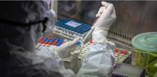 Ilustrasi penelitian virus corona (Foto dari South China Morning Post)