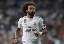 Bek sayap Real Madrid Marcelo