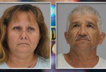 Esmeralda Lira dan Jose Balderas (kredit: Penjara Dallas County)