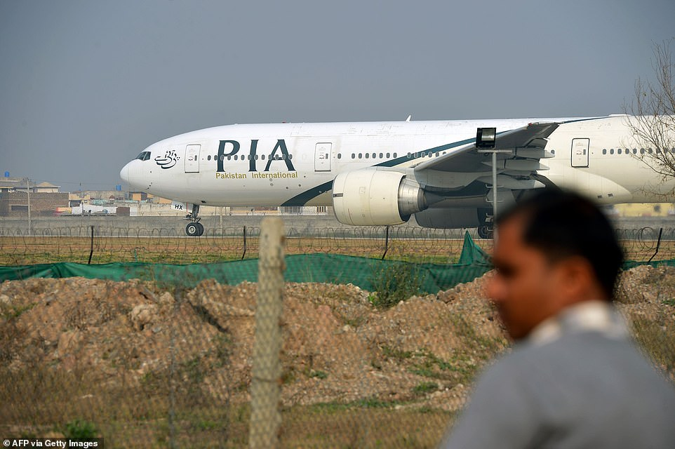Pakistan International Airlines (PIA) Foto: Daily Mail