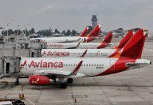Avianca, maskapai penerbangan tertua kedua di dunia menyatakan bangkrut. (Foto dari en.trend.az)
