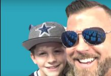 Hayden Hunstable foto bersama ayahnya, Brad Hunstable. Bocah 12 tahun ini bunuh diri sehari sebelum ultah ke-13. Sang ayah menyebut putranya stress akibat terus terkunci di dalam rumah. (Foto dari Youtube)