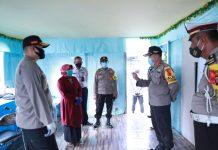 Kapolres Tanjungpinang AKBP Muhammad Iqbal dan Plt Wali Kota Tanjungpinang Rahma saat meninjau Posko Operasi Ketupat Seligi 2020 di Tanjungpinang (Suryakepri.com/Muhammad Bunga Ashab)