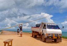 Situasi di Pelabuhan Tanjung Moco, Kelurahan Dompak, Kecamatan Bukit Bestari, Tanjungpinang, Kamis (4/6/2020). (Foto: Suryakepri.com/Muhammad Bunga Ashab)