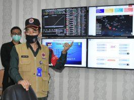 - L.O Satgas Covid-19 BNPB untuk Kepri, Laksma.TNI (Purn) Didin Zainal Abidin, S.sos,MM meninjau posko covid-19 Kepri untuk Batam, Jumat (12/6) di Gedung Graha Kepri, lantai 7 Batam.