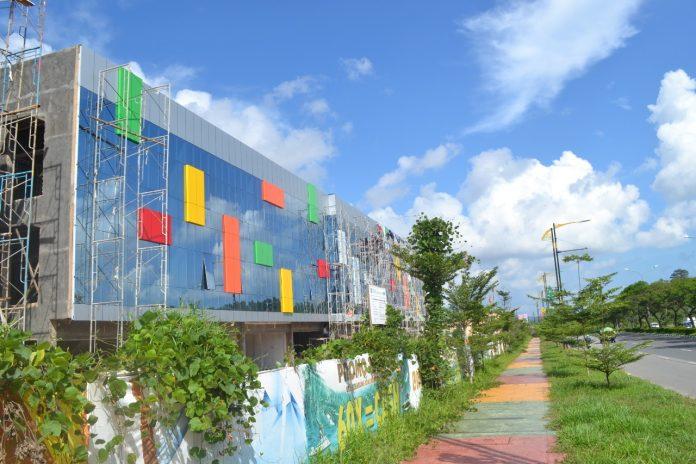 Ruko Orchid Park Business Centre (OPBC) yang dibangun pengembang PKP di Simpang Jam, Batam Centre