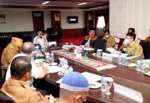 Pemerintah Provinsi Kepri melalui Plt Gubernur Kepri H Isdianto mengundang rapat pihak PT. Surya Bangun Persada (SBP)