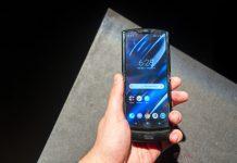 Ponsel lipat Motorola Razr. (Foto dari GSM Arena)