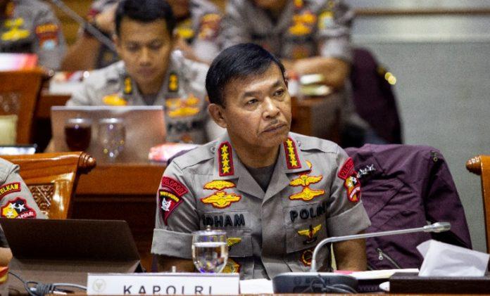 Kapolri Jenderal Pol Idham Azis. (suryakepri.com/foto Antara)