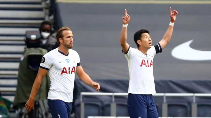 Son Heung-min menjadi bintang kemenangan Spurs atas Arsenal dengan satu gol dan satu assist. (Foto: premierleague.com)