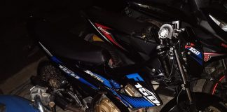 Sepeda motor Suzuki Satria Fu Nopol BP 6981GH diringkus di daerah Cikitsu, dan pelaku dibawa ke polsek Batam Kota guna penyidikan lebih lanjut