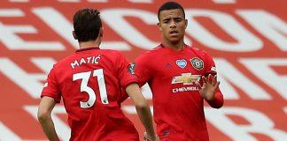 Mason Greenwood mencetak gol penyeimbang menjadikan skor 1-1 untuk menyelamatkan Manchester United dari kekalahan melawan West Ham United di Old Trafford, Kamis (23/7/2020) dinihari waktu Indonesia. (Foto: Premierleague.com)