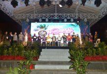 Isdianto saat menghadiri Batam New Normal Fest HIPMI Batam di Nuvasa Bay, Nongsa Kota Batam, Jumat (10/07/2020) malam.