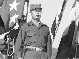 Mantan Jenderal Angkatan Darat Korea Selatan Paik Sun-yup yang difoto pada tahun 1953.Pahlawan Korea Selatan dalam perang Korea ini meninggal dalam usia 99 tahun. (Foto: AP via SCMP)