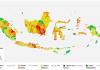 Peta Risiko Covid-19 di Indonesia. (Sumber: Gugus Tugas Nasional)