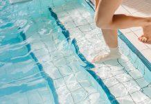 Foto ilustrasi kolam renang. Kementerian Kesehatan telah mengeluarkan protokol kesehatan yang wajib diterapkan oleh pengelola kolam renang di masa pandemi Covid-19.